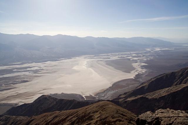 Mirador de Dante's Peak en el Valle de la Muerte