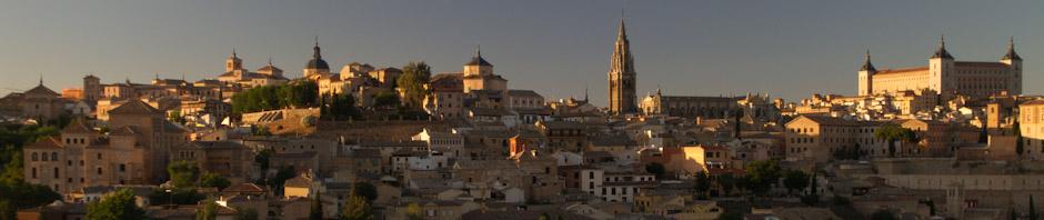 Panorámica del centro histórico de Toledo