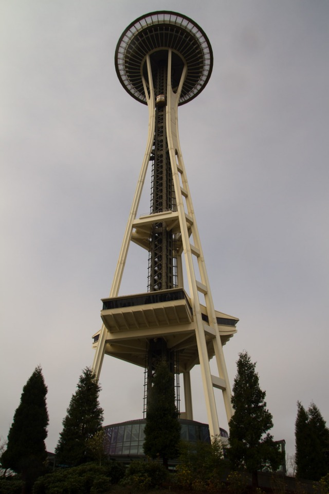 El Space Needle de Seattle, EE.UU.