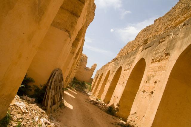 Establos del sultán Moulay Ismail - Meknès, Marruecos