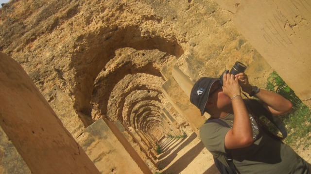 Arcos de los establos imperiales - Meknès, Marruecos