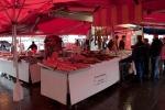 Mercado del pescado, Bergen, Noruega
