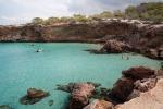 Cala en las playas de Comte, Ibiza, España