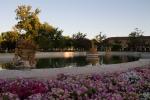Fuente de Ceres en los jardines del Palacio Real de Aranjuez, España.