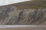 Freshwater Cliff, Isla de Wight, Inglaterra