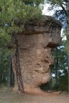 La cara de hombre, Ciudad Encantada, Cuenca, España