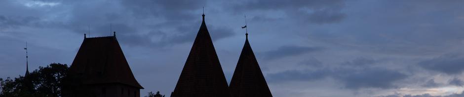 El castillo de la Orden Teutónica en Malbork, Polonia